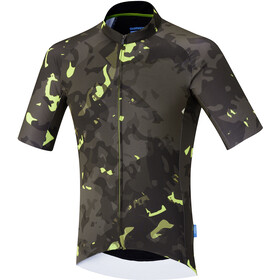 Shimano Breakaway Maillot manches courtes Homme, neon lime